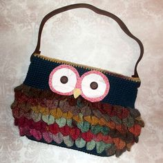 Ravelry: Hootin' Handbag pattern by Crystal Lowder