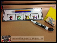 Self Reflection Name Tags and Small Group Posters to help make self assessment quick, efficient, and beneficial for all of your students ANYWHERE in the room!! :)