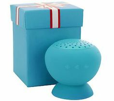 PopRock MiniBoom Portable Bluetooth Speaker - I have this in pink & LOVE it. Great gift idea too