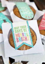 CD Case Cookie gift @ourbestbites