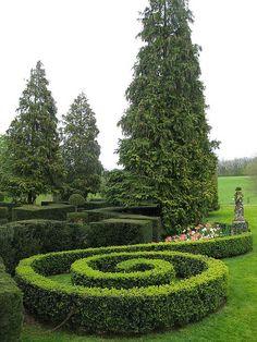 Eyrignac garden,France
