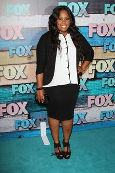 Amber Riley at Fox's Summer All Star Party