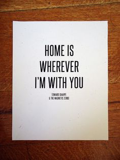 Typographic Graphic Design Print  8x10  Home is by MarchOn on Etsy