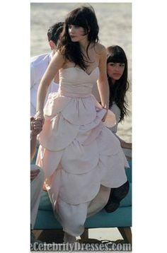 Dress ideas on pinterest bridal garters ximena for Zooey deschanel wedding dress