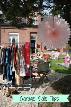 Garage Sale Tips Part 2: Having a successful sale | Endlessly Inspired