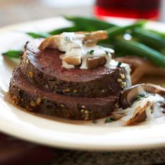 This slow-roasted #beeftenderloin is an easy dish the whole family will enjoy.