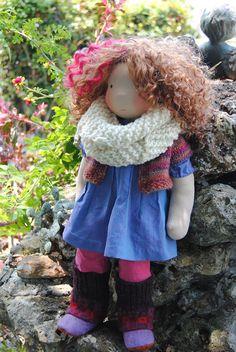 22 Leonnie Fairywooldoll original Waldorf cloth von Fairywooldolls