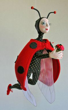 .۞ ۩  BRAvo Lady Bug by Kathy Houser  by Doll Street Dreamers on Flickr.