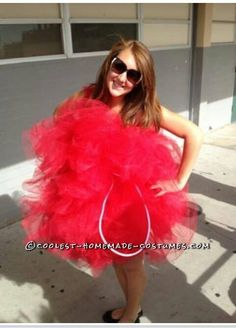 """Giant Loofah Sponge Homemade Costume Idea for a Woman... This website is the Pinterest of costumes"" I found Miranda Bullard!!!"