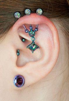 mystic, angles, heal daith, daith pierc, triple pierced ears, ear piercings, beauty, tattoo, jewelri