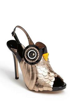 Kate Spade New York   night owl pumps // epic shoe design!