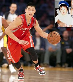 Jeremy Lin now and then