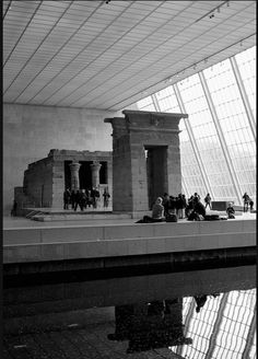 Temple of Dendur, Metropolitan Museum of Art, NYC.
