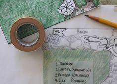 draw a garden plan for spring bulbs l Gardenista