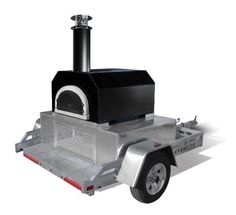 Mobile Wood Fired Pizza Ovens ad Portable Pizza Oven By Chicago Brick Oven. Get the fire Rolling!