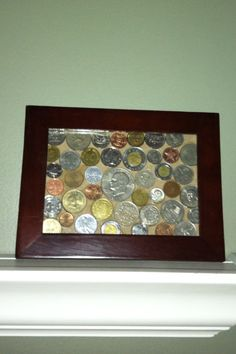 My foreign coin collection becomes art!!