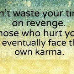 Karma karma...