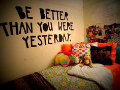 i need inspiring wall decal.