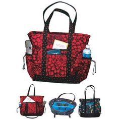 tote pattern -  looks like it would be great for traveling too.