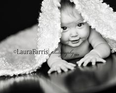 reflective surface underneath baby - brings out highlights and lowlights.