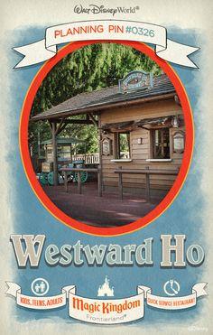 Walt Disney World Planning Pins: Westward Ho