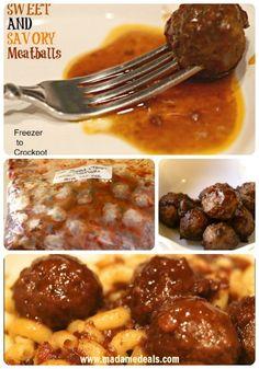 Sweet and Savory Grape Jelly Meatballs Recipe #recipes