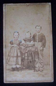 CIVIL WAR ERA 1865 CDV Photograph TAX Stamp Glen'S Glens Falls NEW York | eBay