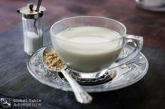 Suutei Tsai (Mongolian tea with milk, salt and butter) - strange for ...