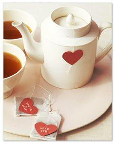 Tea Time Valentine / DIY