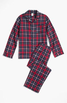 Tucker + Tate Flannel Pajama Set (Little Boys & Big Boys) | Nordstrom