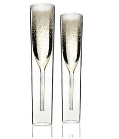 Copas-vaso tubo de champagne