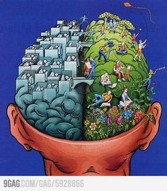 See those bridges between the two ways of thinking? Autistic people have LOTS of those ;) #autism #aspergers