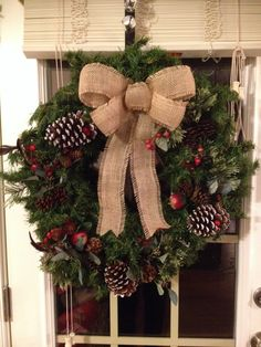 My wreath this year!