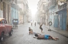 "Bathing day""-Havana style by Val Proudkii"