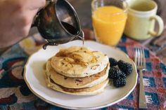 Whole Wheat Almond Pancake Recipe