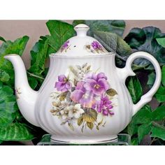 Pansy Fine Bone China - Posted by Redlandspoodles.com