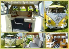 Scrummy Camper Vans #VW #Van #Makeover #Camping #Glamping #Vintage #Retro #Volkswagon #RoadTrip...Brought to you by #House of #Insurance #Eugene, #Oregon