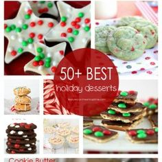 50+ BEST Holiday Desserts! I Heart Nap Time | I Heart Nap Time - Easy recipes, DIY crafts, Homemaking