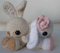2000 Free Amigurumi Patterns: Craft Pattern: Crochet Spring Bunny
