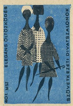 vintage matchbox label: vintage matchbox label