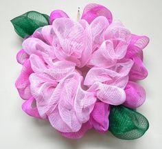 Decomesh Flower Wreath