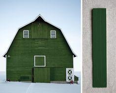 Painted Barn: Irish Green Palette