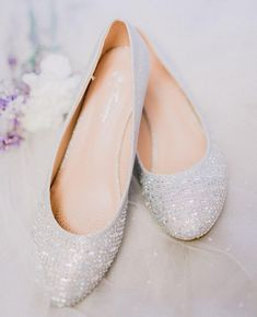 These sparkly flats are AHHHmazing       #weddingshoes #bridalshoes #customshoes #weddingbells #weddingidea #weddingceremony #weddingdetails #weddingstyle #weddingdecor #shoestagram #sanfranciscoweddingphotographer #smpweddings