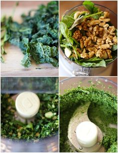 Kale Pesto - easy, nutritious, delicious! | www.theroastedroot.net