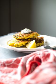 Zucchini and Corn Parmesan Fritters | Flourishing Foodie
