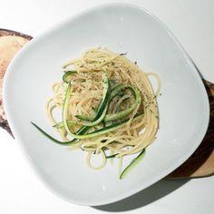 zucchini, lemons, healthi eat, yummi, spaghetti zucchin, pasta, foodi, healthi apertur