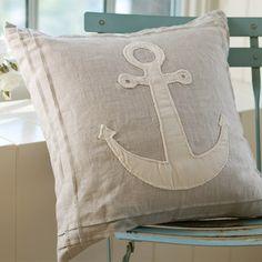 Anchor Porch Pillow