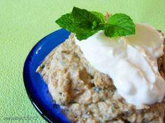 Boranie Bademjan (Persian Eggplant Yogurt Dip). Photo by awalde