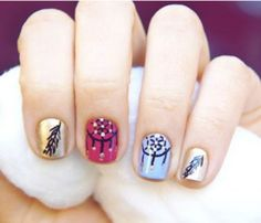 dreamcatcher nails.
