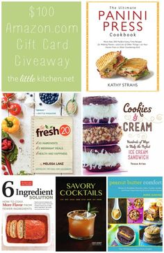 $100 Amazon.com Gift Card Giveaway | the little kitchen